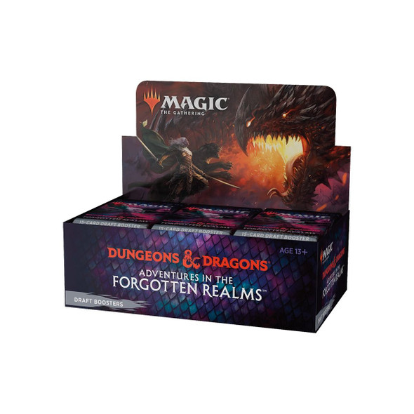 Magic Adventures in the Forgotten Realms Draft Booster Display