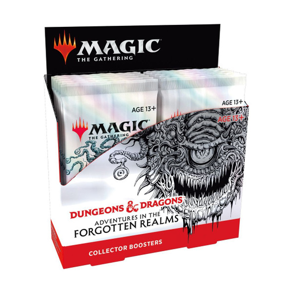 Magic Adventures in the Forgotten Realms Collector Booster Display