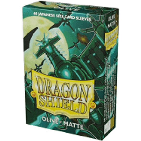Dragon Shield Japanese- Box 60 - Olive MATTE