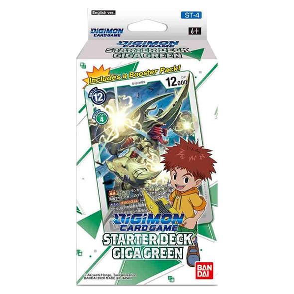 Digimon Card Game Series 04 Starter Display 04 Giga Green