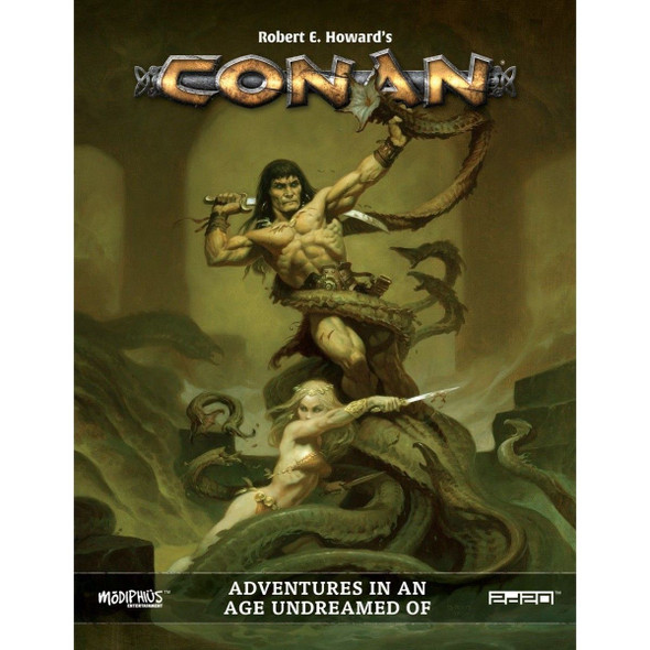 Conan RPG Adventures in an Age Undreamed Of (On Demand)