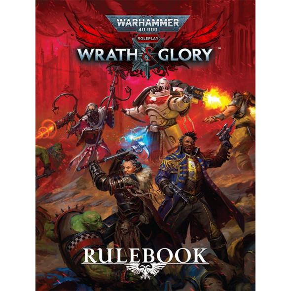 Warhammer 40000 Roleplay Wrath & Glory Rulebook (On Demand)