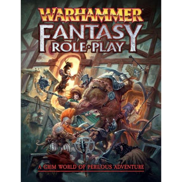 Warhammer Fantasy Roleplay 4th Edition Rulebook (On Demand)