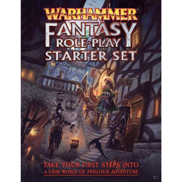 Warhammer Fantasy Roleplay 4th Edition Starter Set (On Demand)