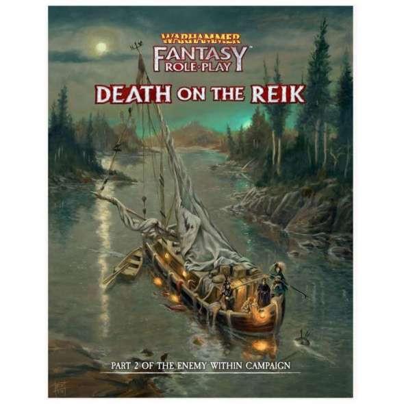 Warhammer Fantasy Roleplay Death on the Reik Enemy Within Volume 2 (On Demand)