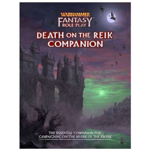 Warhammer Fantasy Roleplay Death on the Reik Companion (On Demand)