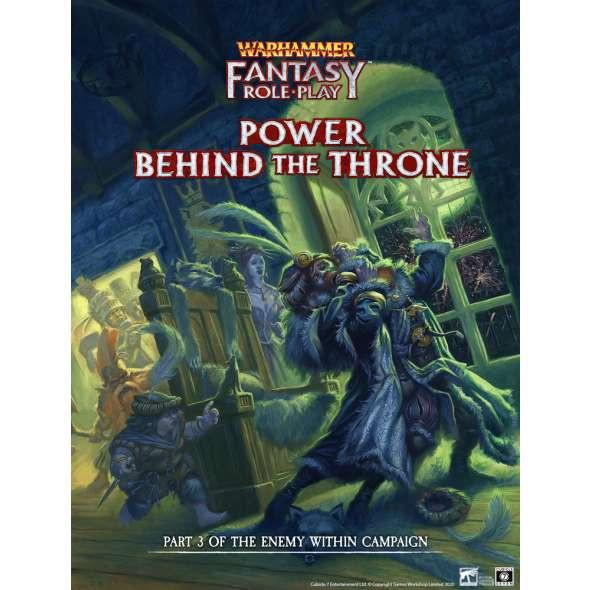 Warhammer Fantasy Roleplay Power Behind the Throne Enemy Within Volume 3 (On Demand)