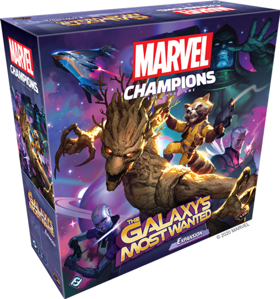 Marvel Champions TCG The Galaxies Most Wanted Expansion