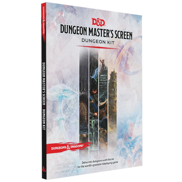 D&D Dungeon Masters Screen Dungeon Kit