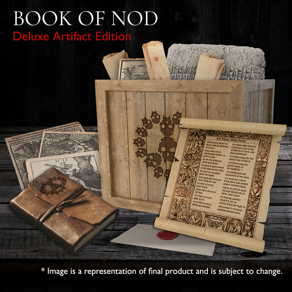 The Book of Nod Deluxe Artifact Edition - Vampire: The Masquerade 5th Ed