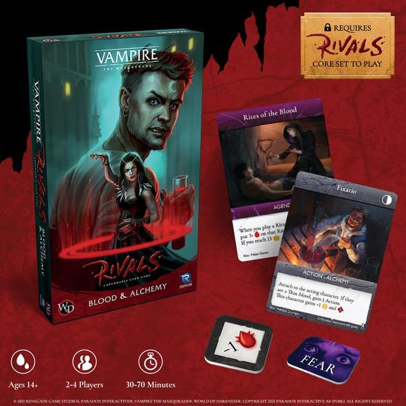 Vampire: The Masquerade Rivals ECG Blood & Alchemy