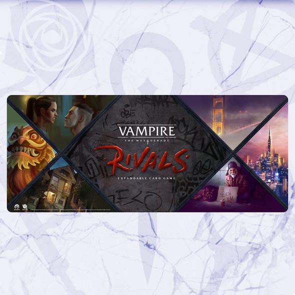 Vampire: The Masquerade Rivals City Playmat