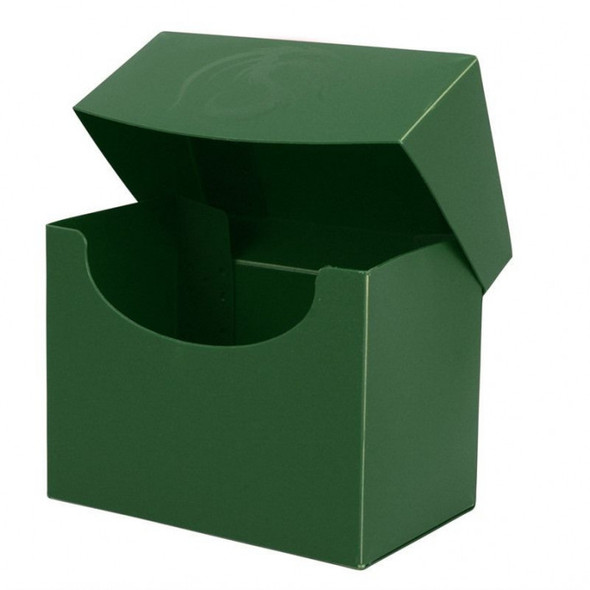 BCW Deck Case Box Side Loading Green (Holds 80 cards)
