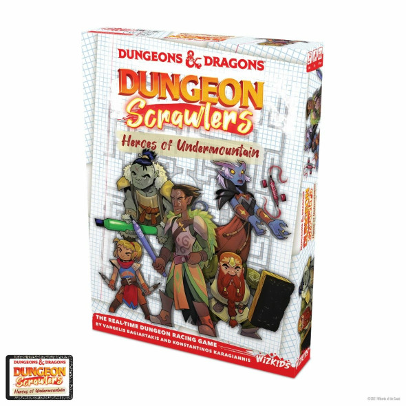 Dungeons & Dragons Dungeon Scrawlers Heroes of he Undermountain