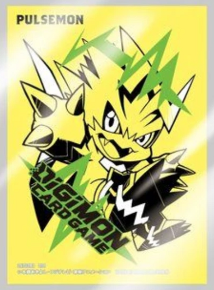 Digimon Card Game Official Sleeves 60ct, Set 2-  Pulsemon