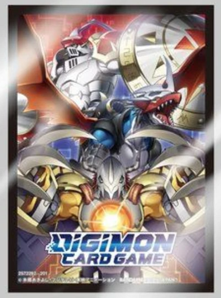 Digimon Card Game Official Sleeves 60ct, Set 2-  Wardramon, Dukemon, Imperialdramon
