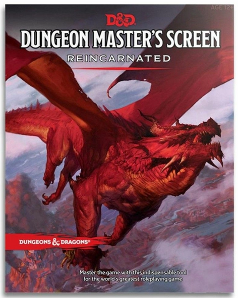 Dungeons and Dragons D&D Dungeon Master's Screen Reincarnated