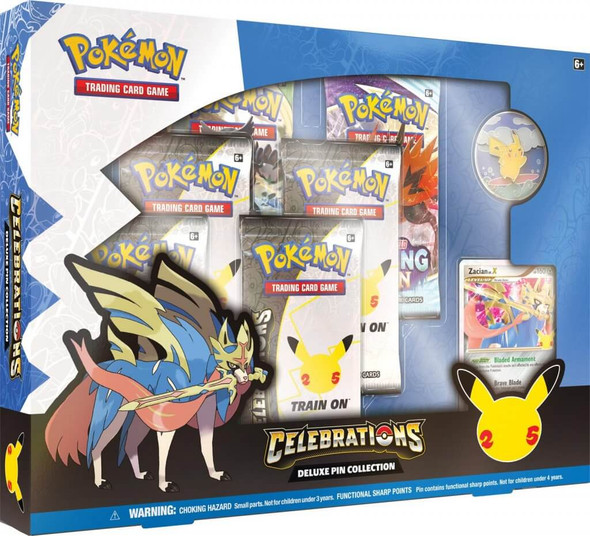 POKÉMON TCG Deluxe Pin Collection - Celebrations