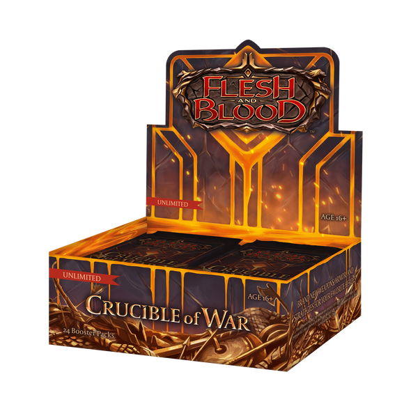Flesh and Blood - Crucible of War Booster Box - Unlimited