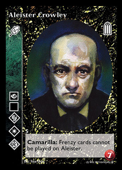 (vtes) Aleister Crowley