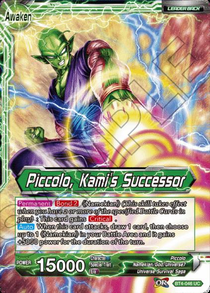 BT4-046 Piccolo / Piccolo, Kami's Successor