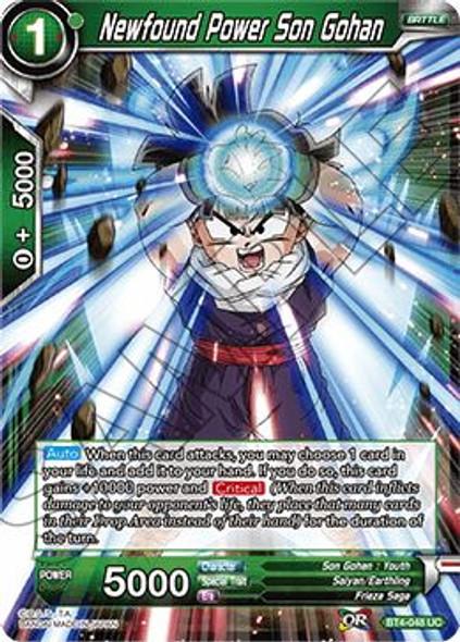 BT4-048 Newfound Power Son Gohan