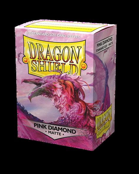 Dragon Shield Pink Diamond Matte - 100 standard size