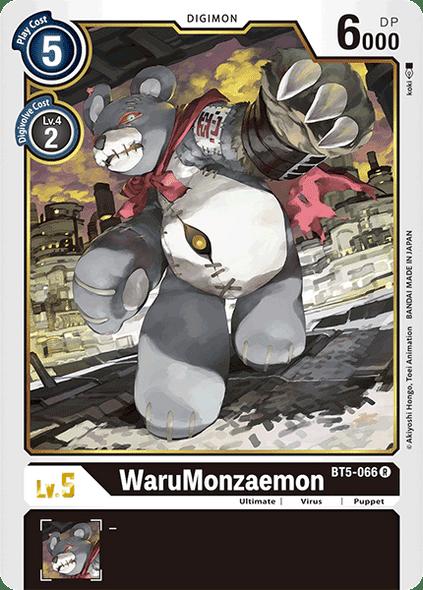 BT5-066 WaruMonzaemon  - Rare