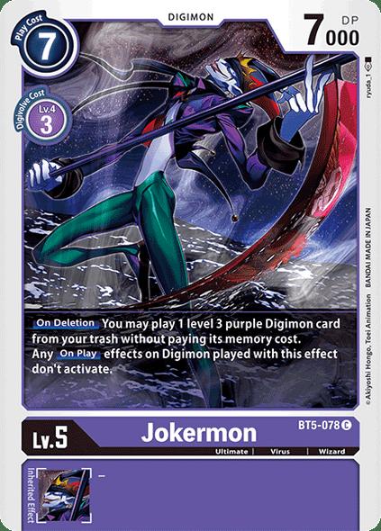 BT5-078 Jokermon  - Uncommon