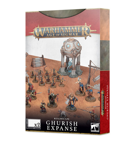 Age of Sigmar Realmscape Ghurish Expanse