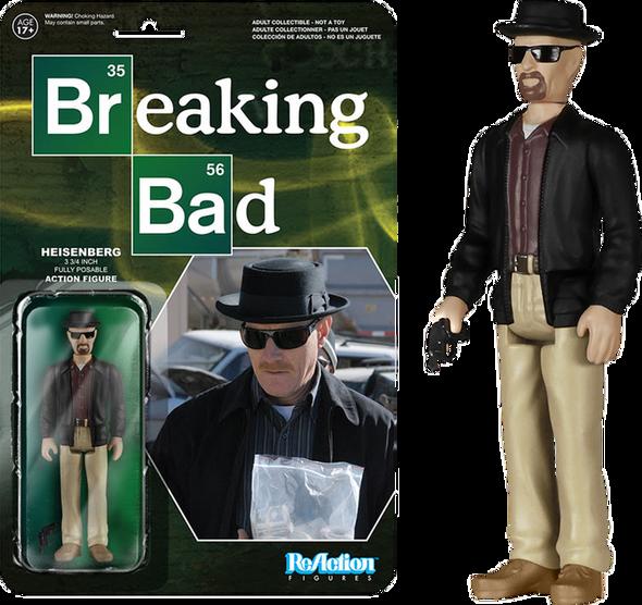 Breaking Bad - Heisenberg ReAction Figure