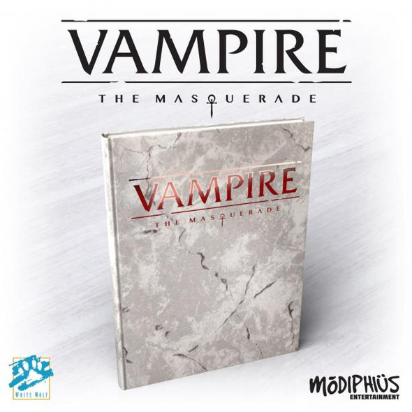 Vampire: The Masquerade 5th Ed Deluxe (Alt. Cover, HC, Full Color)