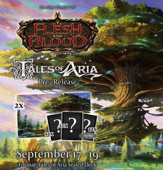Flesh and Blood Tales of Aria Online Pre Release