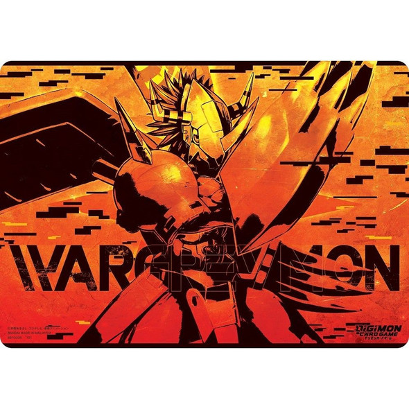 Digimon Card Game Play Mat Wargreymon