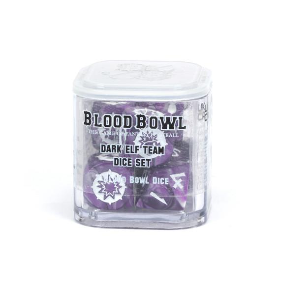Blood Bowl – Dark Elf Team Dice