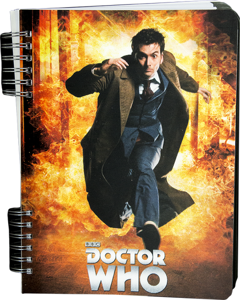 Doctor Who - Tenth Doctor Lenticular Journal