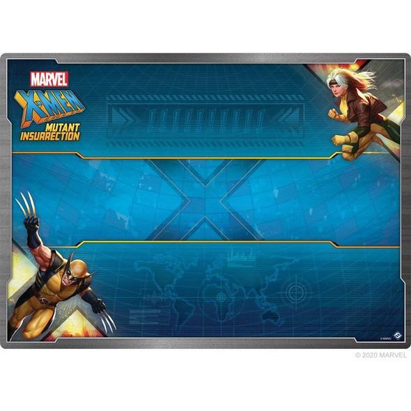Marvel X-Men Mutant Insurrection Game Mat