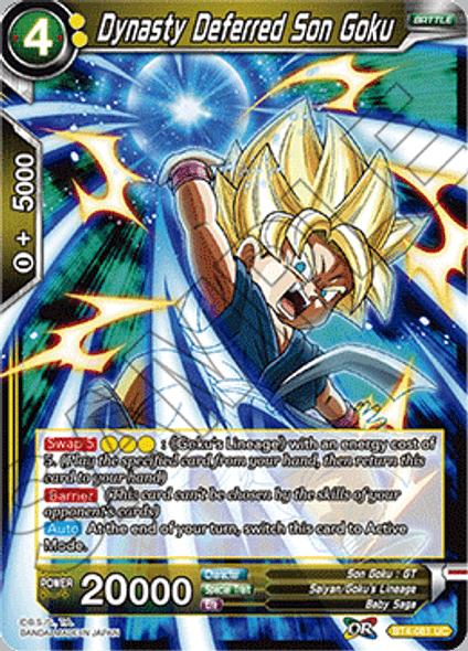 BT4-081 Dynasty Deferred Son Goku