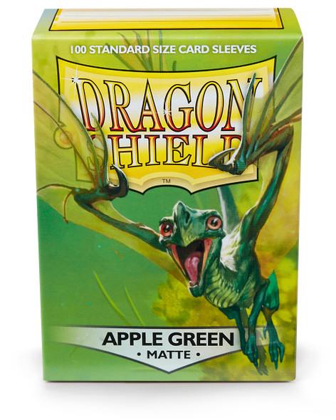 Sleeves - Dragon Shield - Box 100 - Apple Green MATTE