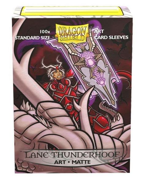 Sleeves - Dragon Shield - Box 100 -  MATTE Art - Lane Thunderhoof Potrait