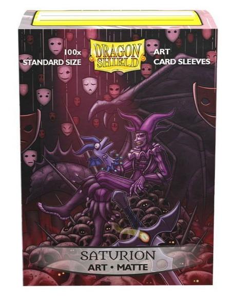 Sleeves - Dragon Shield - Box 100 -  MATTE Art - Saturion Portrait