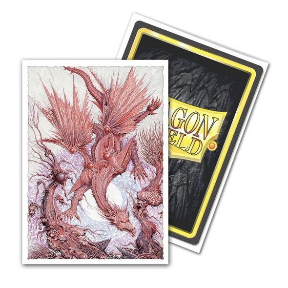 Sleeves - Dragon Shield - Box 100 -  MATTE Art - Essence of Insanity