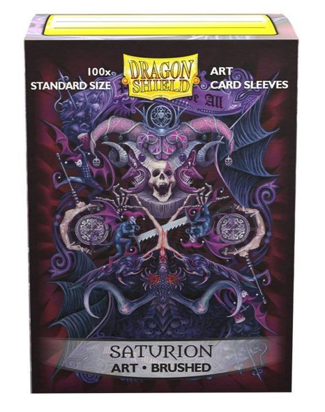 Sleeves - Dragon Shield - Box 100 -  Brushed Art - Saturion