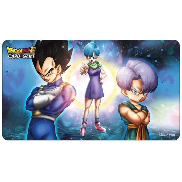 ULTRA PRO Dragon Ball- Super Playmat & Tube - Bulma, Vegeta, and Trunks (V1)