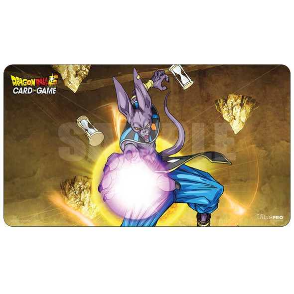 ULTRA PRO Dragon Ball- Super Playmat & Tube - Beerus (V2)