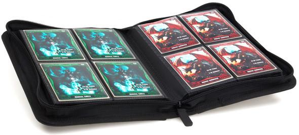 Ultimate Guard 4-Pocket ZipFolio XenoSkin Folder - Black