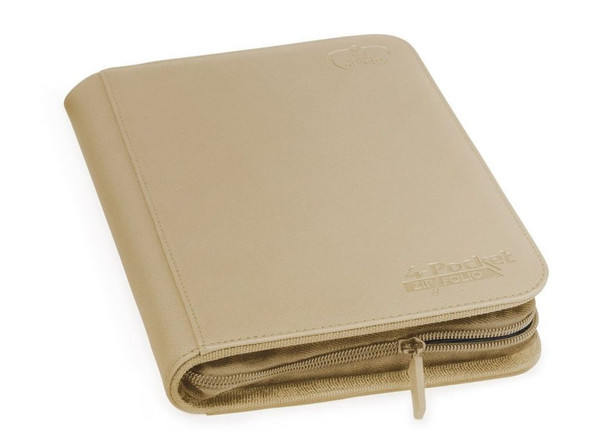 Ultimate Guard 4-Pocket ZipFolio XenoSkin Folder - Sand (ON DEMAND)