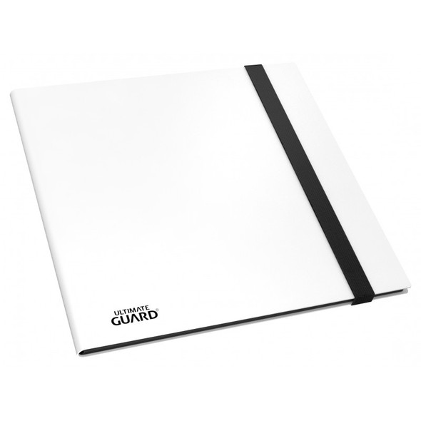 Ultimate Guard 12-Pocket QuadRow FlexXfolio Folder (ON DEMAND) - White