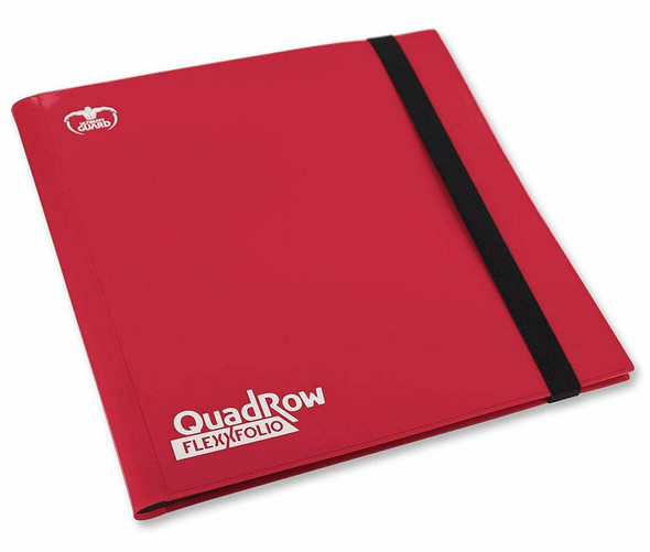 Ultimate Guard 12-Pocket QuadRow FlexXfolio Folder (ON DEMAND) - Red