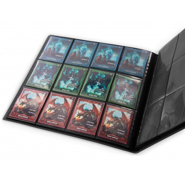 Ultimate Guard 12-Pocket QuadRow FlexXfolio Folder (ON DEMAND) - Black
